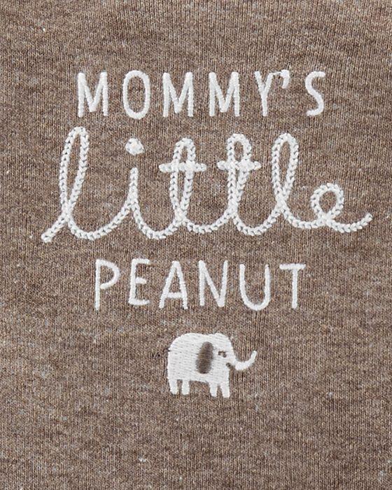 Conjunto Carter's Elefante Peanuts (TRIO BUMBUM FOFO 3 PEÇAS)