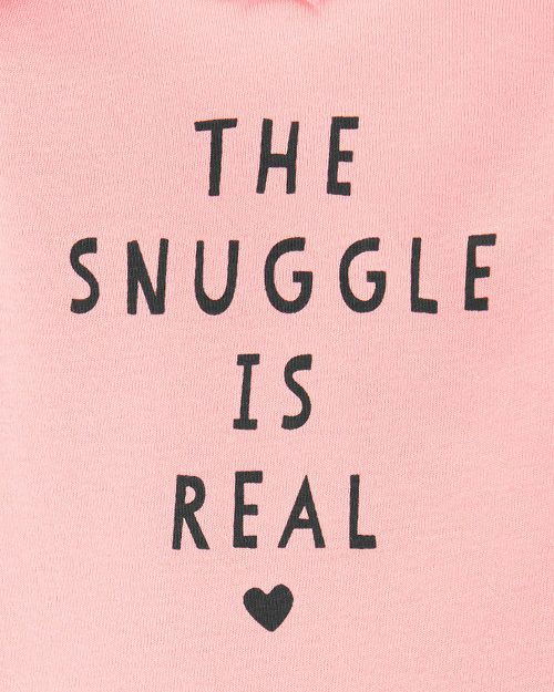 Conjunto Carter´s The Snuggle is Real (TRIO BUMBUM FOFO)
