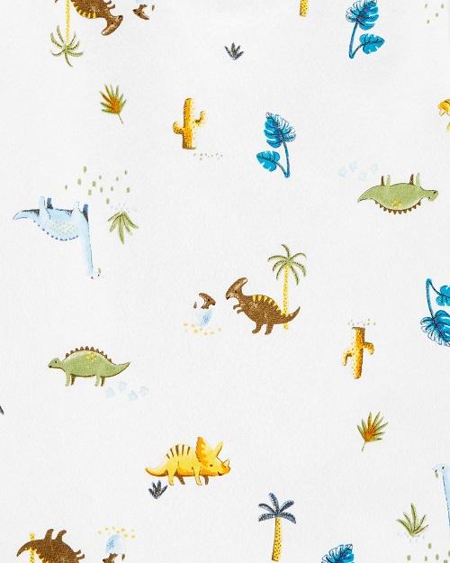 Conjunto Jardneira Carter's 2 Peças - Blue & Dinosaur