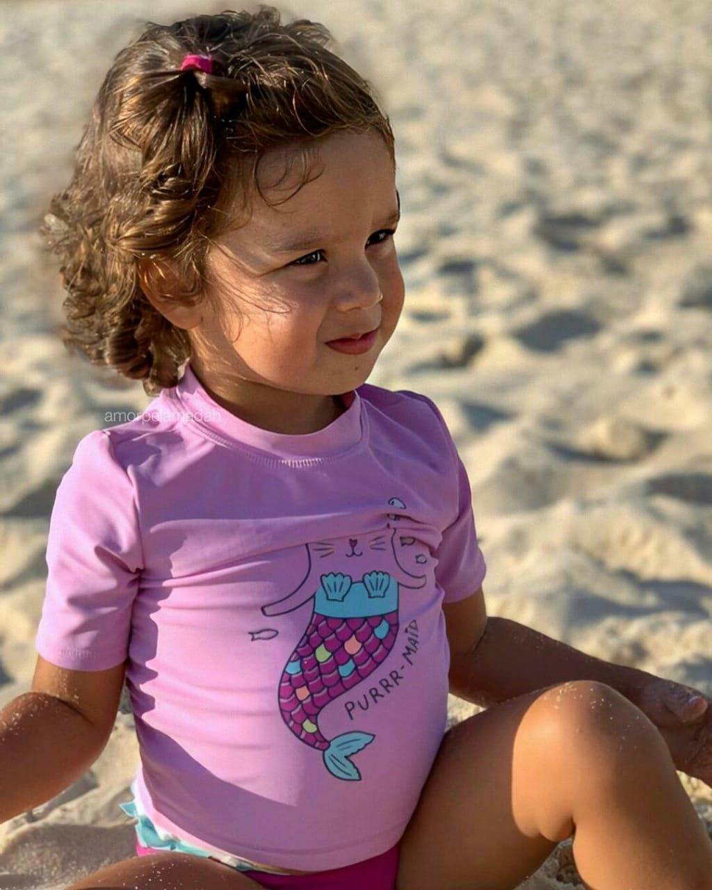 Conjunto Praia Carter´s Sereia Lilás