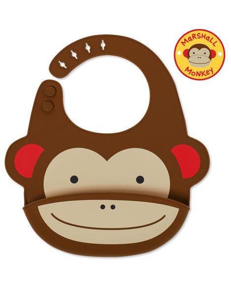Babador Silicone  Skip Hop - Macaco