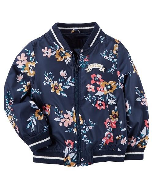 Floral Bomber Jacket Carter's