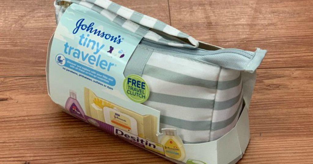 Johnson's Tiny Traveler Baby Gift Set