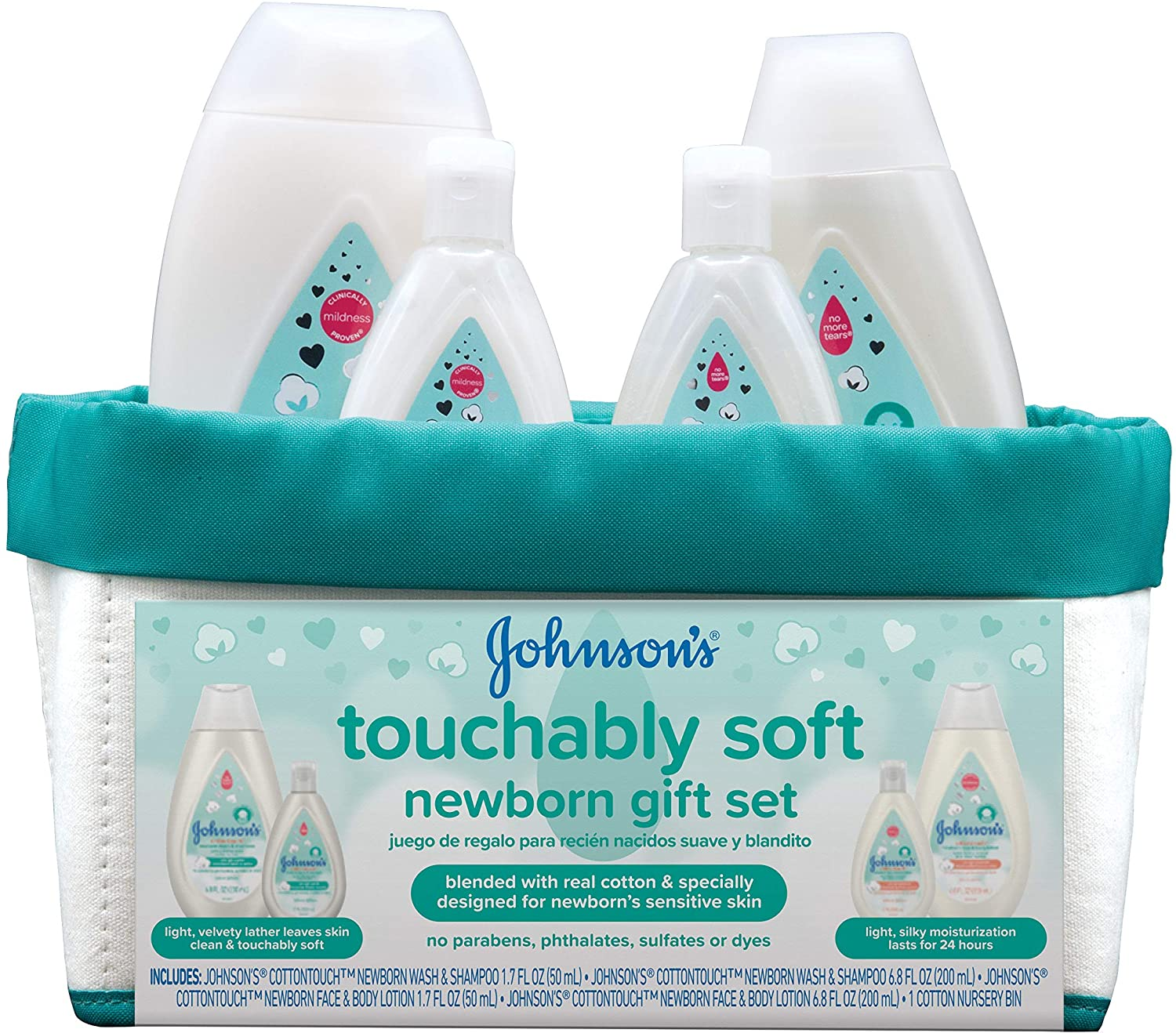 Johnson's Touchably Soft Baby Gift Set