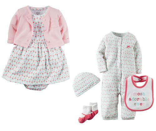 Kit Maternidade Carter´s - Adorable 6 pcs