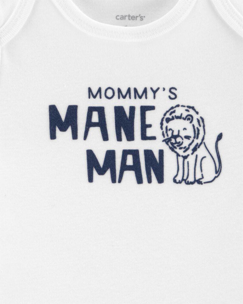 Kit Maternidade Carter´s - Conjunto 3 peças - Mane Man Leãozinho