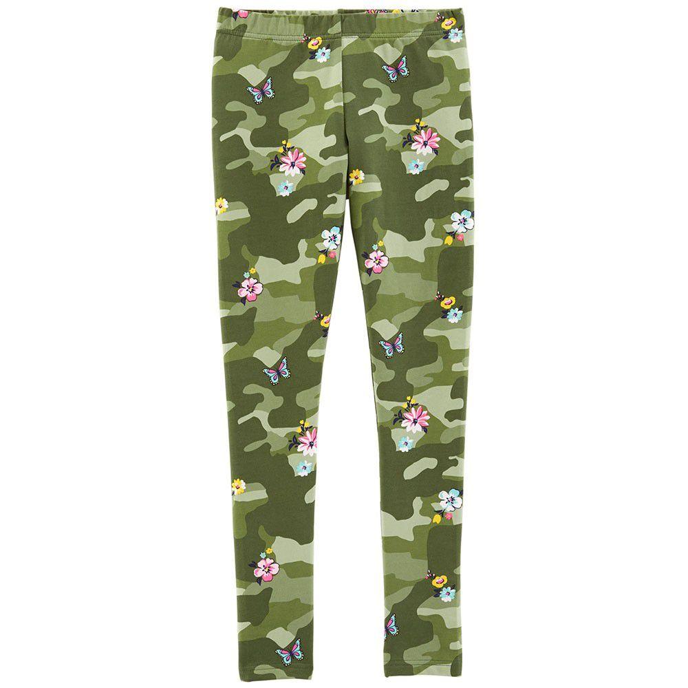 Legging Carter´s Floral Camo Girl Camuflada