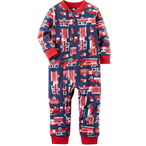 Pijama Carter's Inverno fleece - BOMBEIRO