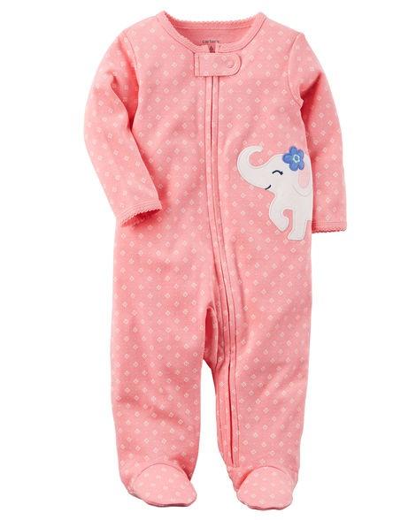 Macacão Carter´s Lovely Elephant Pink