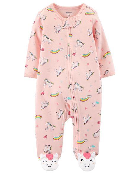Macacão Carter´s Pijama Algodão - Unicórnio