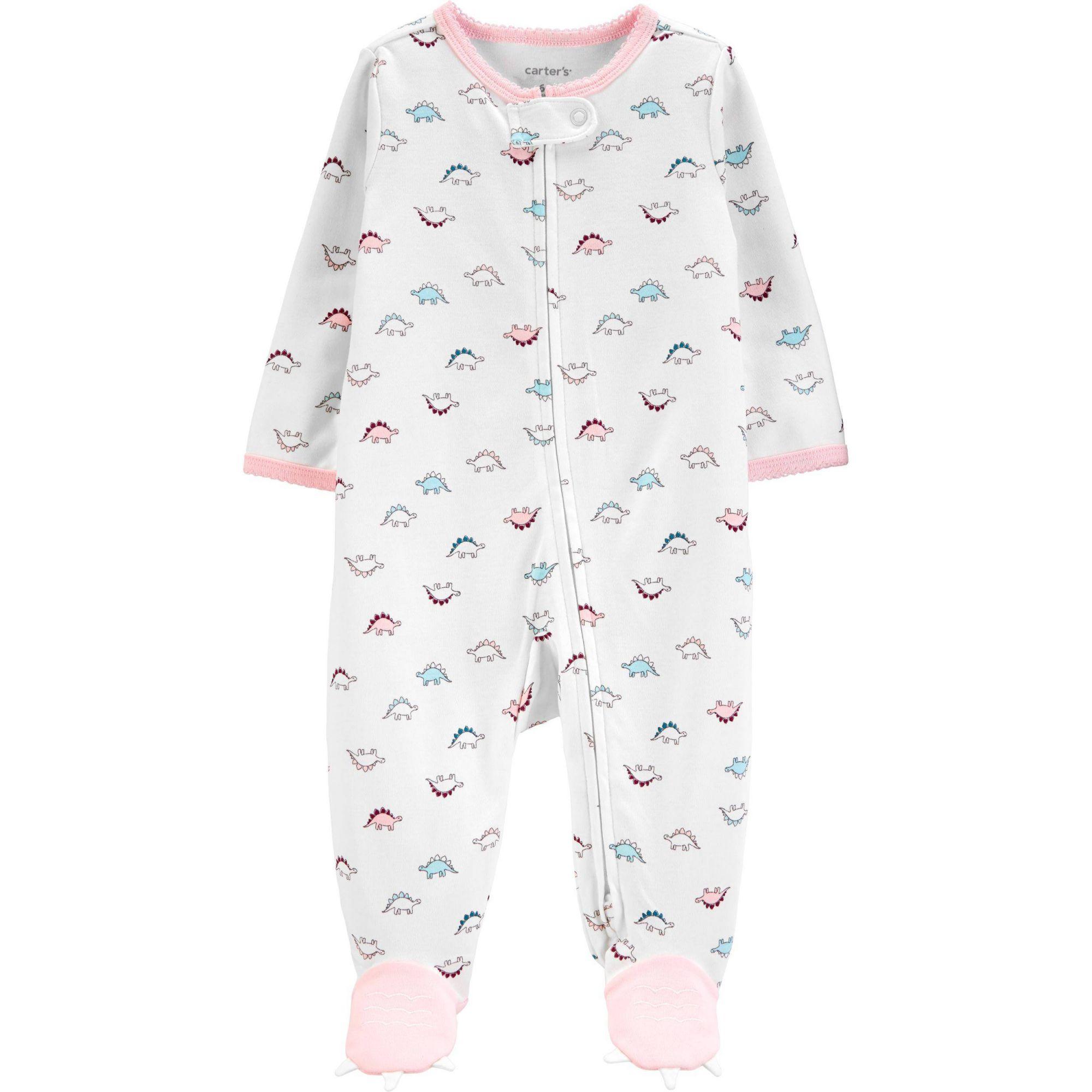 Macacão Pijama Carter´s - Dino Baby Girl