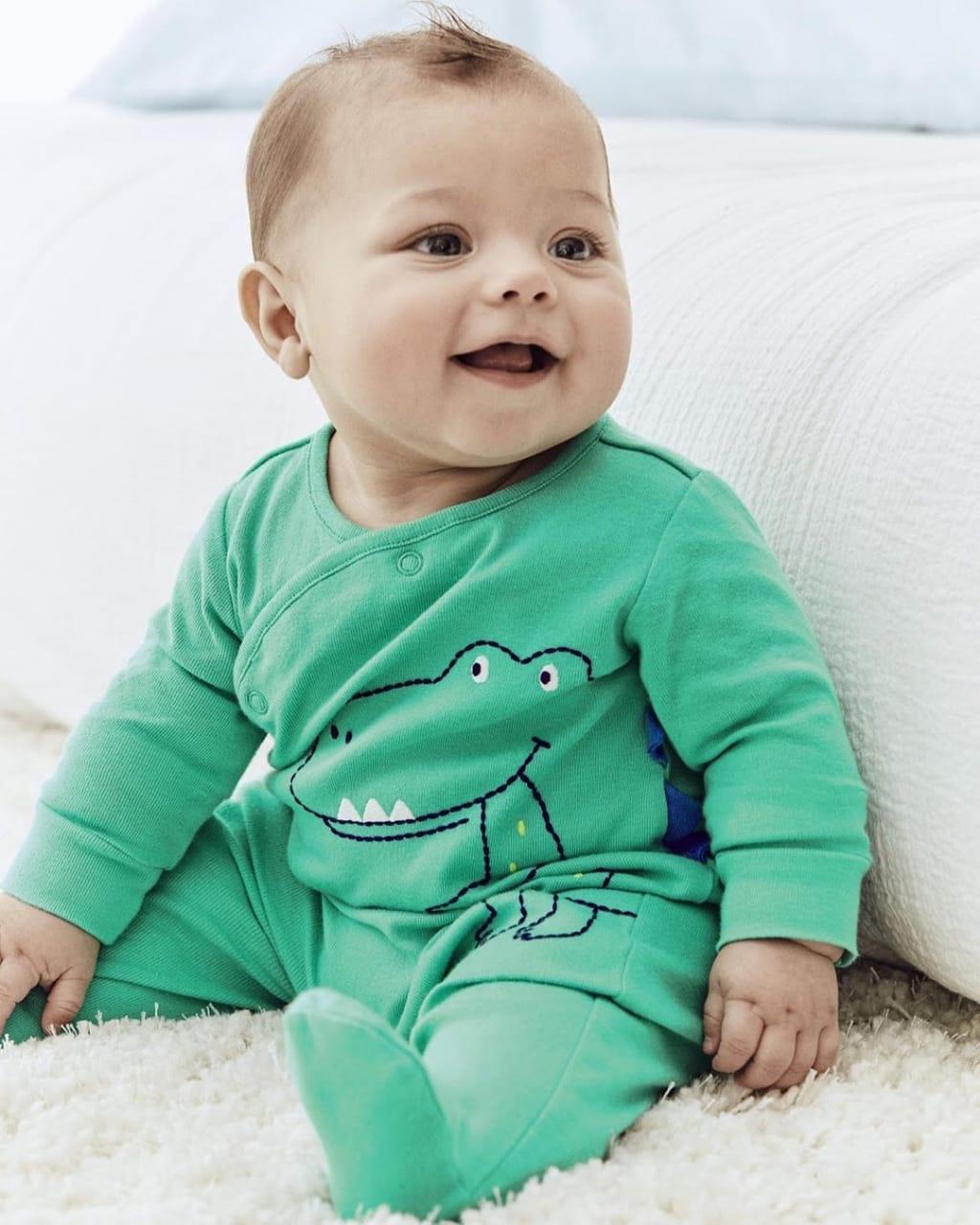 Macacão Pijama Carter´s - Dinosaur Snap-Up