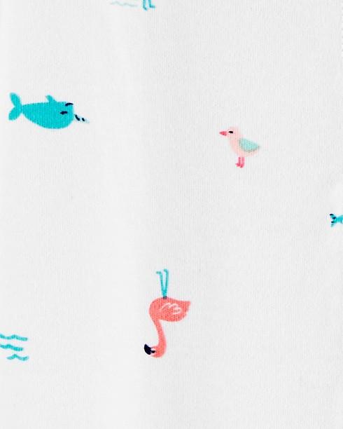 Macacão Pijama Carter´s - Flamingo
