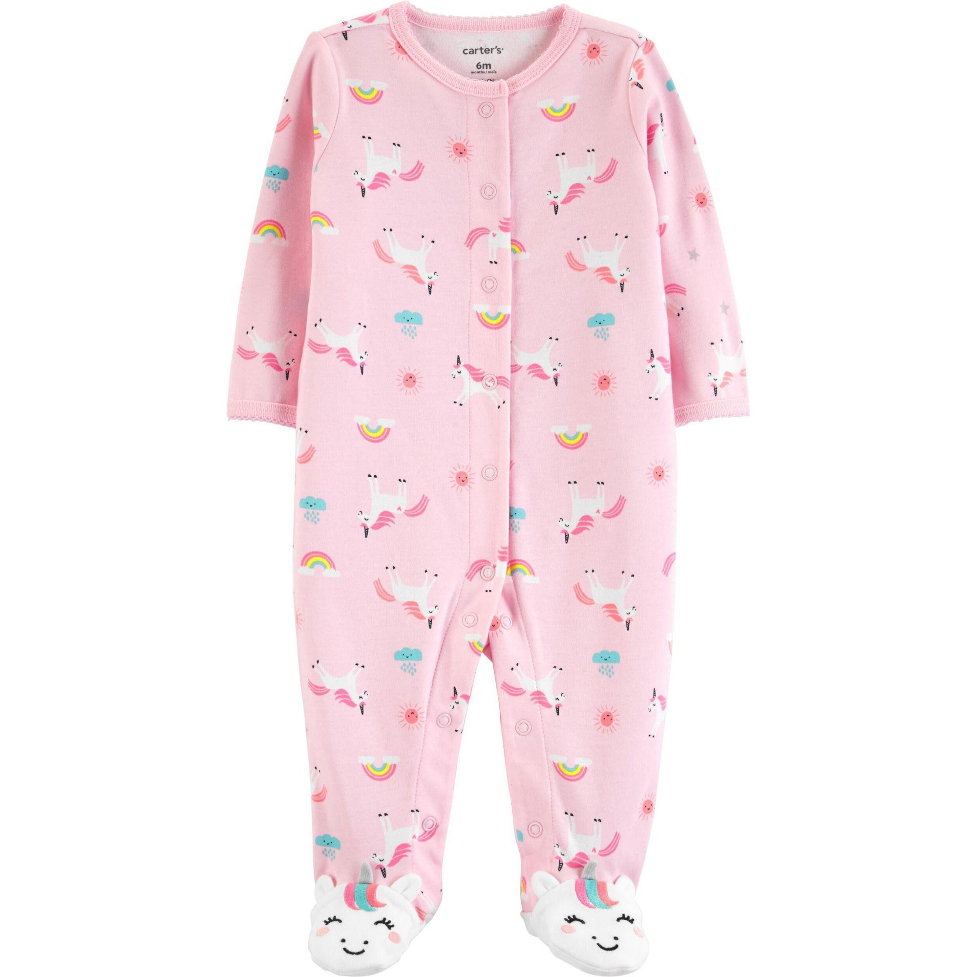 Macacão Pijama Carter´s - UNICÓRNIO PINK