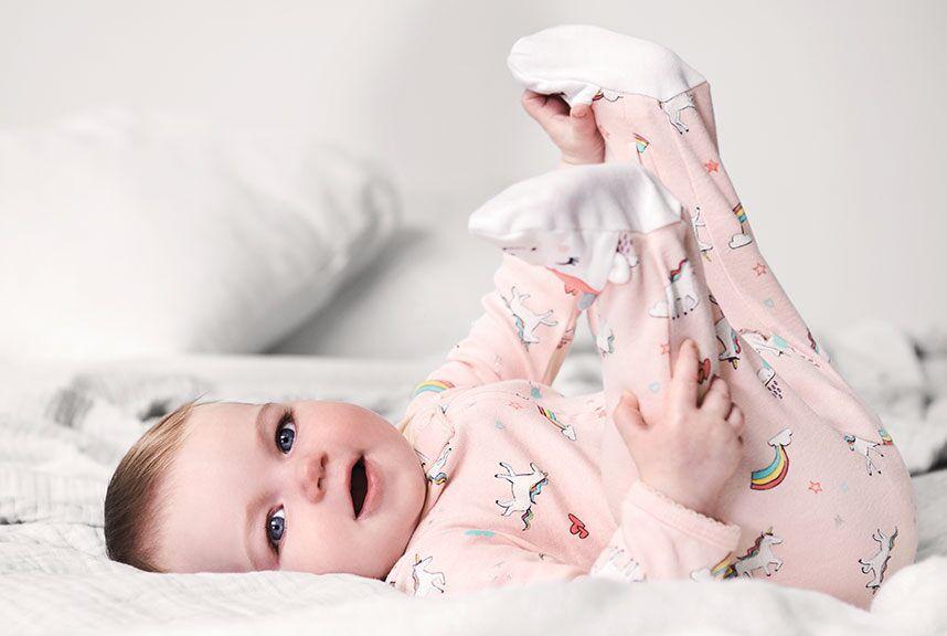 Macacão Pijama Carter´s - Unicórnio Rosa