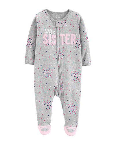 Macacão Pijama Little Sister Carter´s