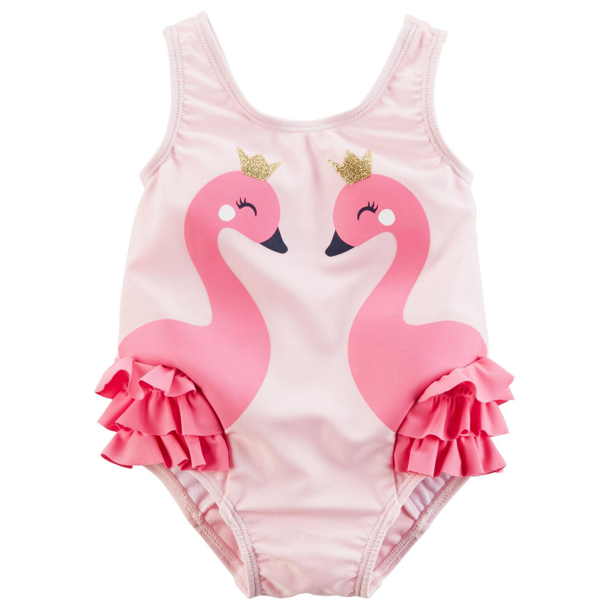 Maiô Carter´s Flamingo Rosa (praia)