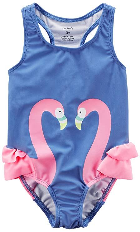 Maiô Carter´s Flamingo Azul