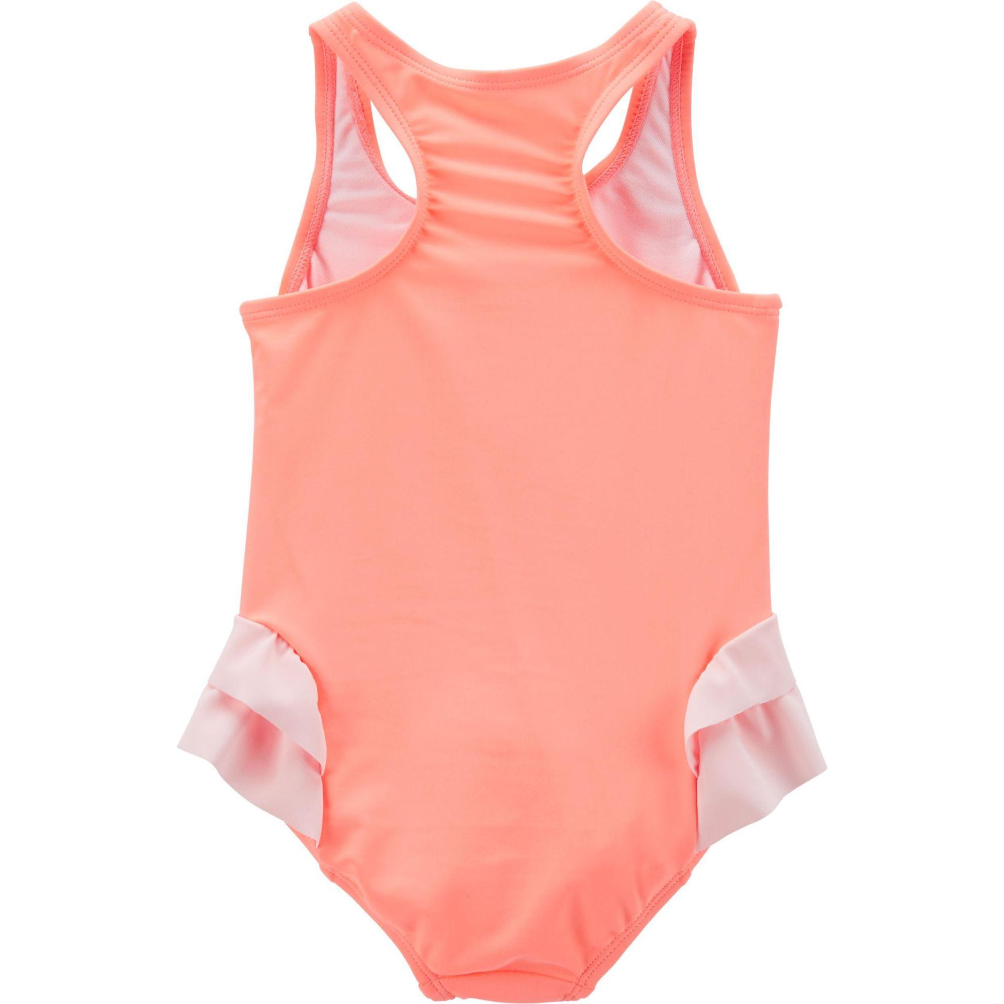 Maiô Carter´s Flamingo Coral Pink