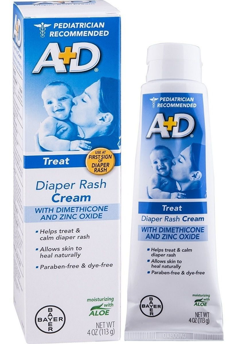 Pomada A+D Diaper Rash Cream - TREAT - TUBO azul 113 gramas