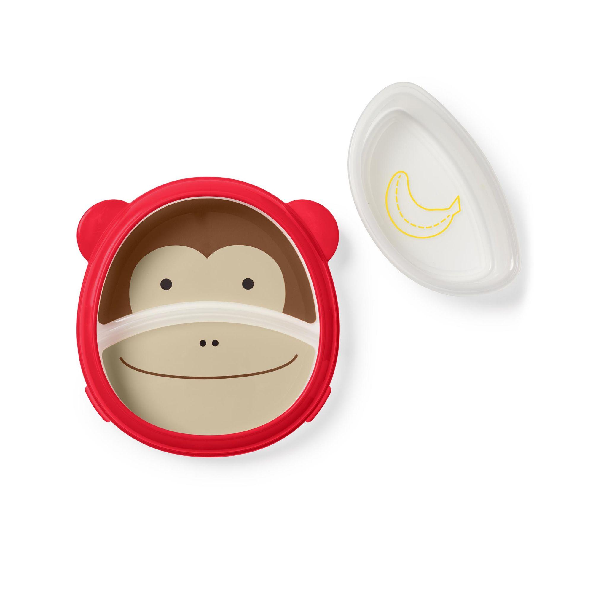 Prato de Treinamento Skip Hop Zoo - Macaco