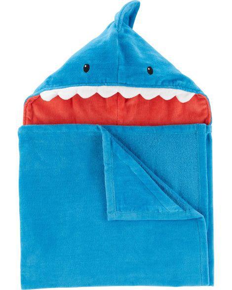 Toalha Capuz Carter´s Tubarão