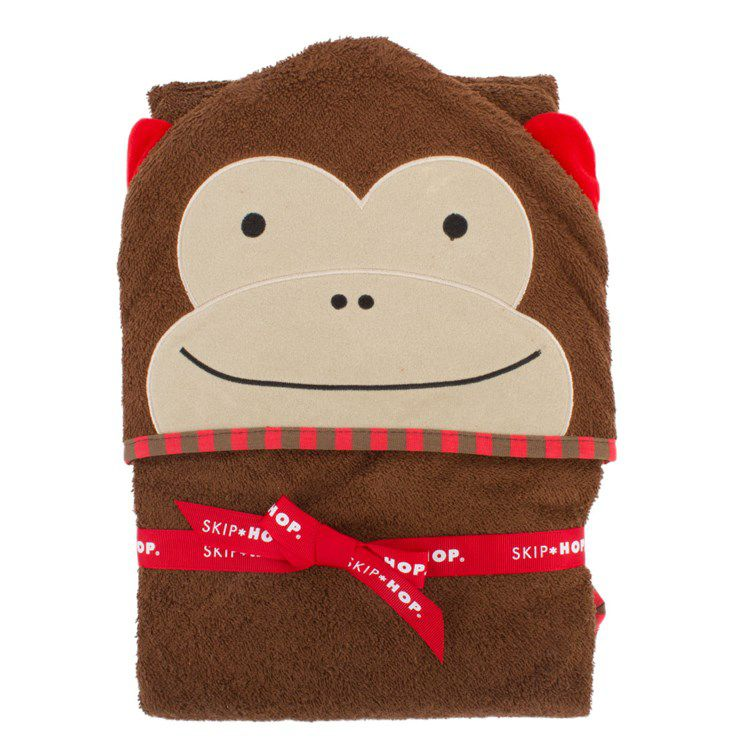 Toalha com capuz Skip Hop Zoo - Macaco