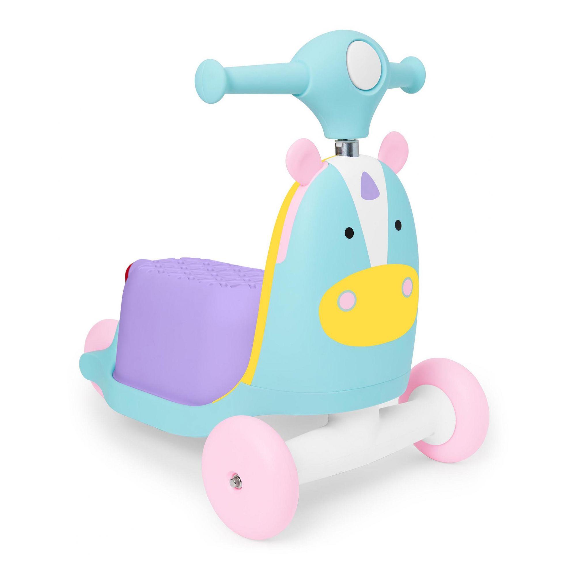 Triciclo Patinete Skip Hop Unicórnio