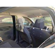 Barreira de Proteção em Acrílico p/ Carros Uber e Táxi