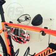Suporte para bicicleta, óculos e capacete - Modelo Square