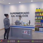 MERCADO - Escudo Protetor Salivar Recorte Central