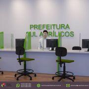 Barreira de Proteção para Mesas de Órgãos Públicos