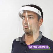 Kit com 1000 - PROTETOR FACIAL TOTAL FACE SHIELD PREMIUM