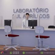 Barreira de Proteção em Acrílico para Mesa de Laboratórios