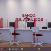 BANCOS - Kit com 10 Escudos Protetores Salivares
