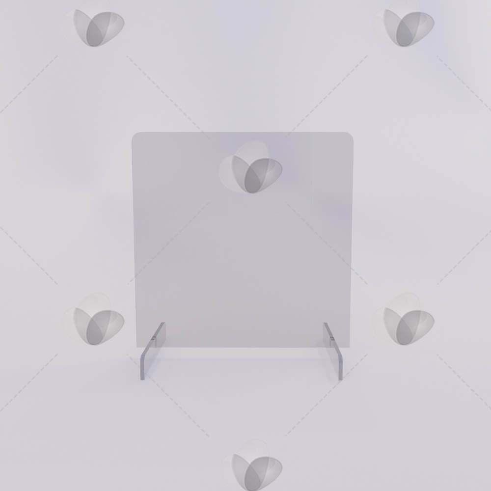 Barreira de Proteção para Mesa em Acrílico - 50x60cm