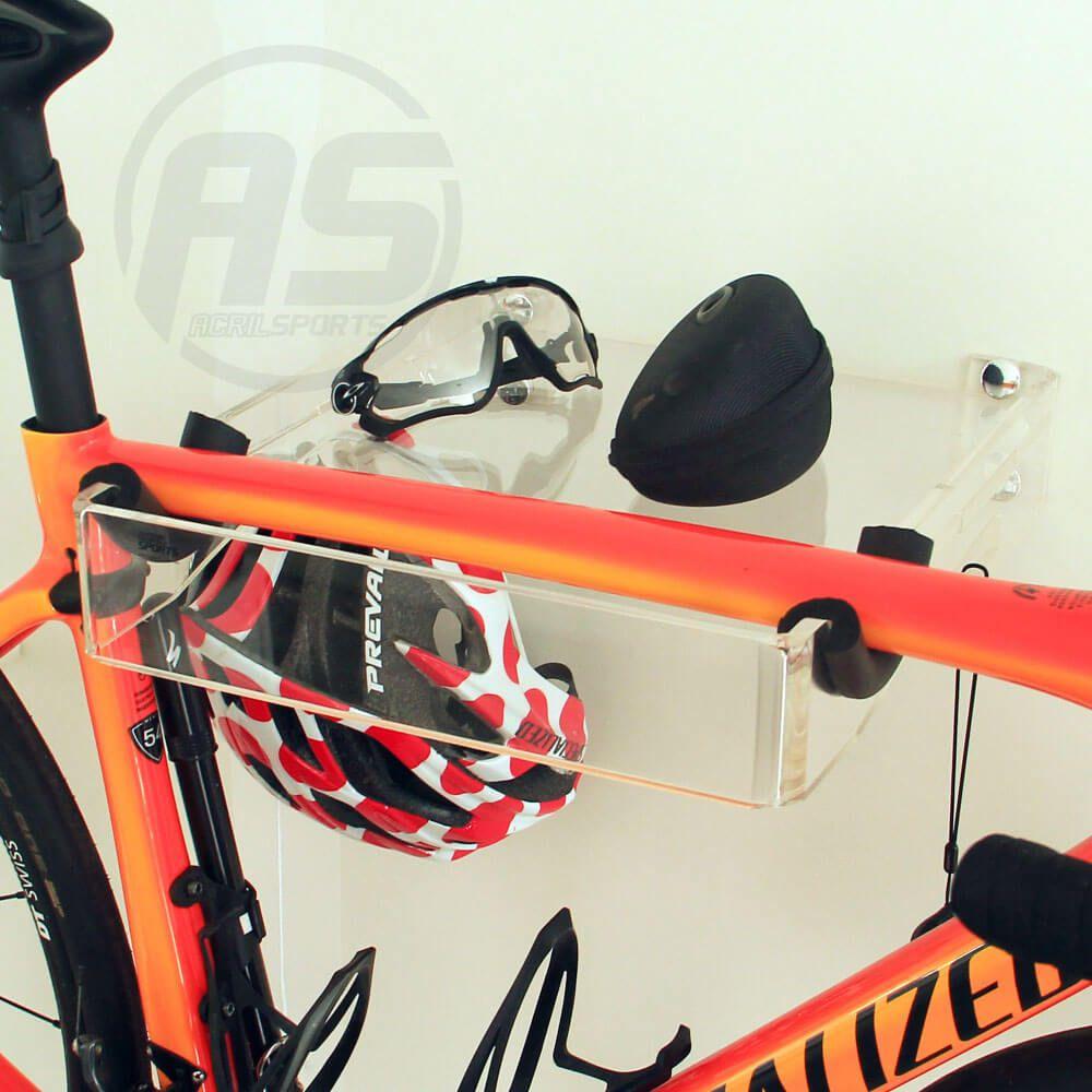 Suporte p/ Bicicleta, Óculos e Capacete - Mod. Square