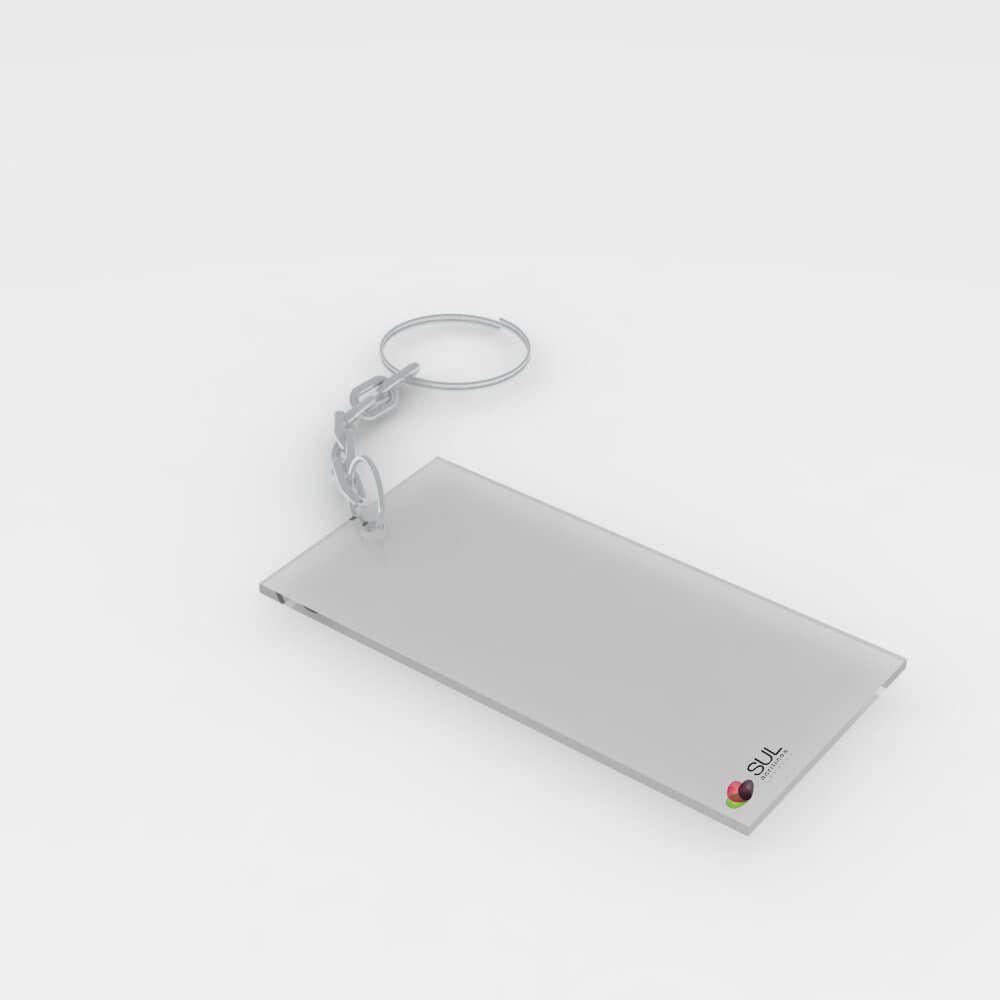 Chaveiro Simples - 5x10cm - 50 Unidades