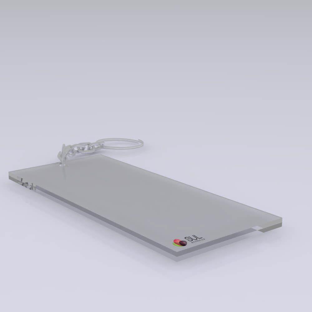 Chaveiro Simples - 6x14cm - 50 Unidades