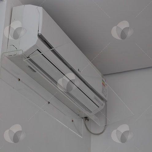 Defletor para ar condicionado em acrílico direcionador de ar 7.000 - 12.000 BTUS