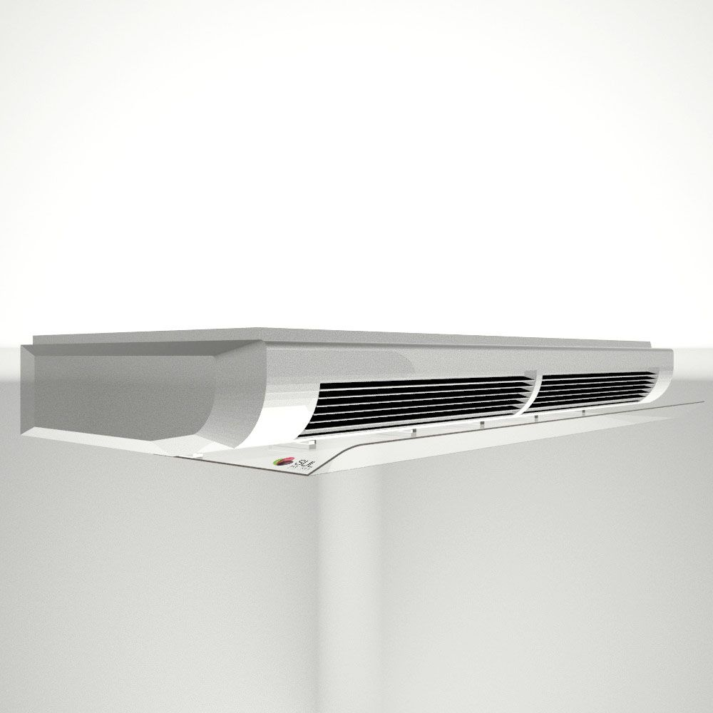 5f4d0fb17 Defletor para ar condicionado em acrílico direcionador de ar - piso teto  48.000 - 60.000 BTUS ...