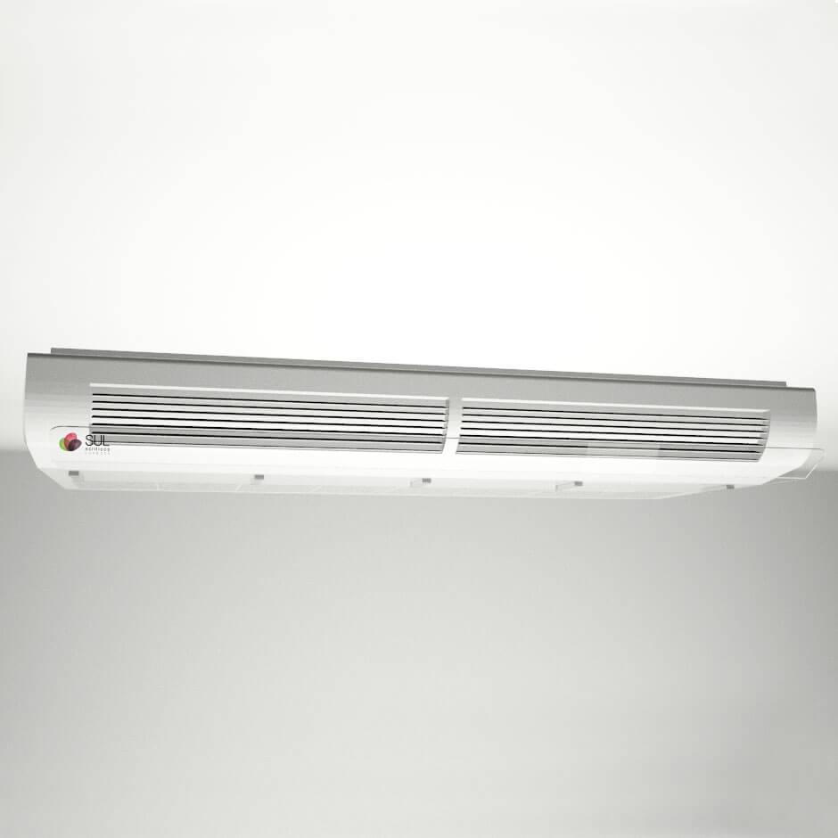 Defletor p/ Ar Condicionado em Acrílico Piso Teto 36.000 - 48.000 BTUS