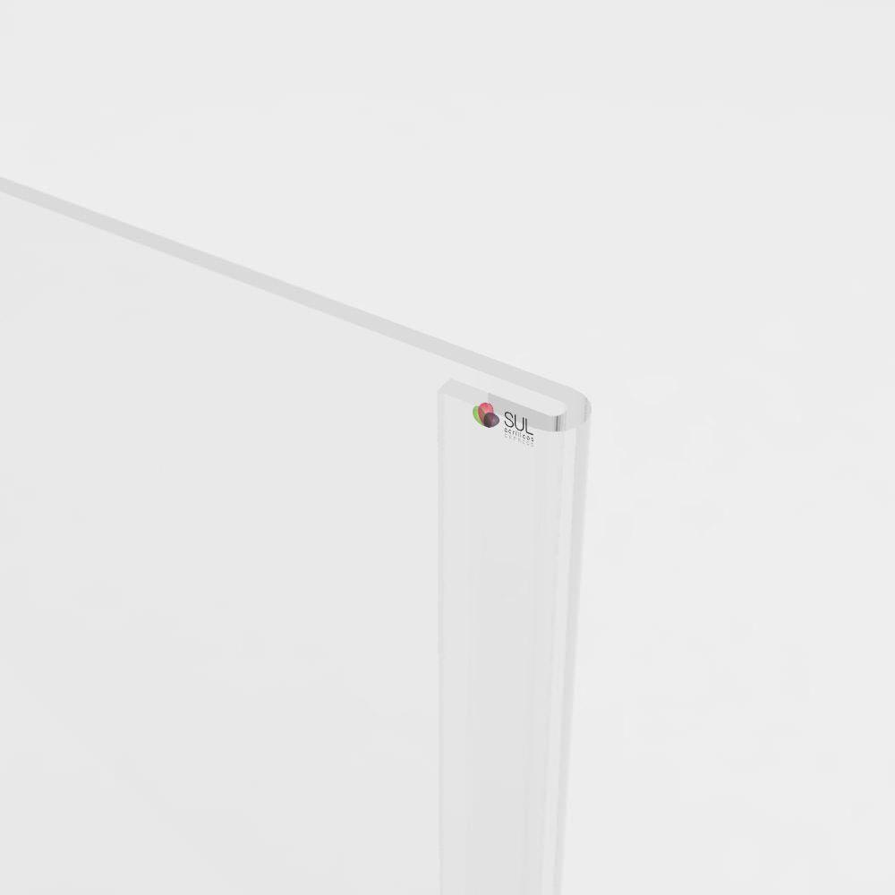 Display bolso folha A6 horizontal ou vertical para parede | 4 unidades