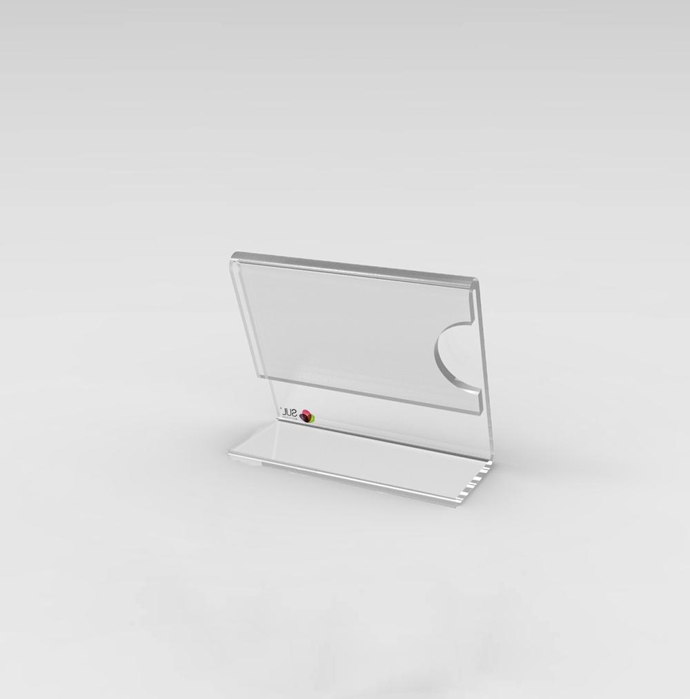 Porta Etiqueta/ Preçário de Mesa - 5x4,5cm - 10 Unidades