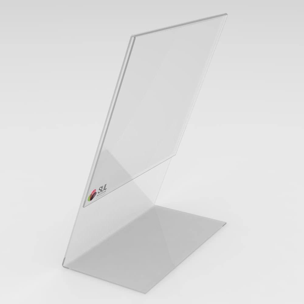 Display L Retrato/Vertical A6 Mesa - Pcte 4 Unidades