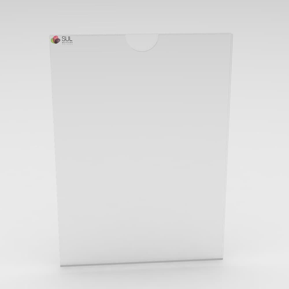 Display Sanduíche - Retrato - A5 - 4 Unidades