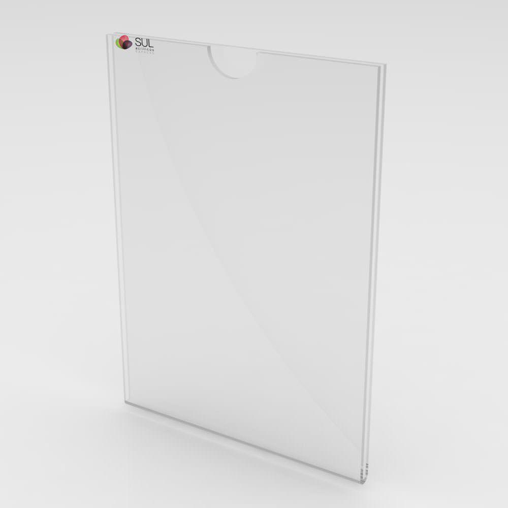 Display Sanduíche-Duplo Retrato/Vertical A6 - 4 Unidades