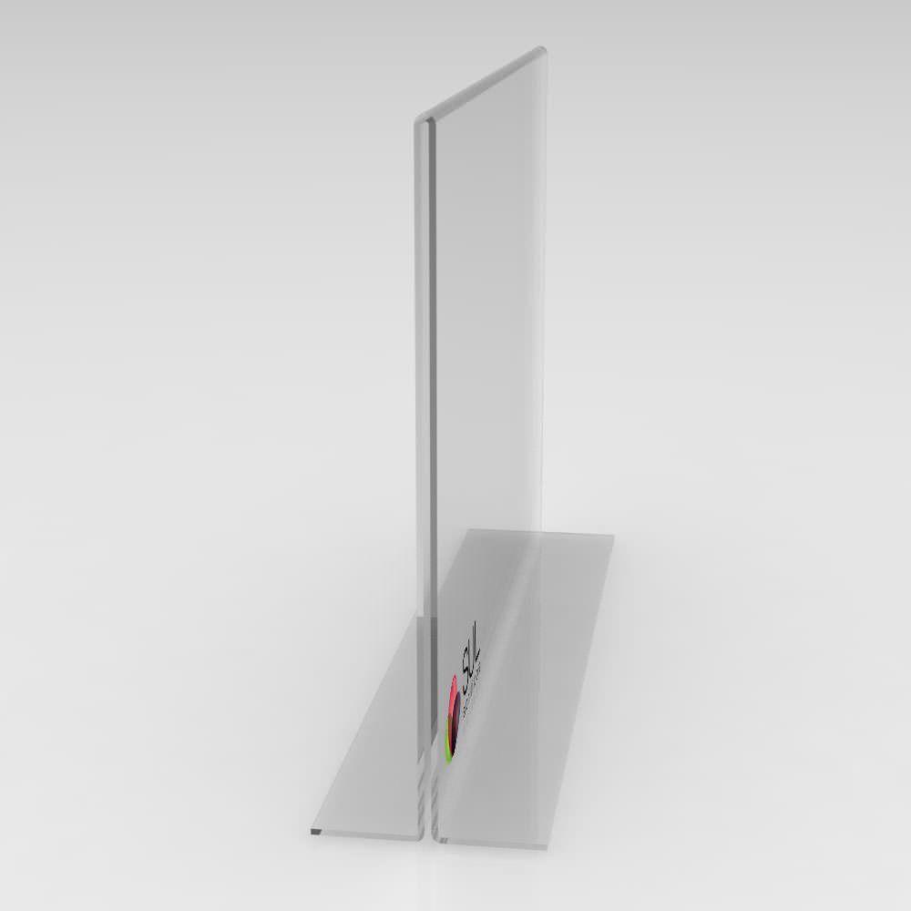 Display T Paisagem/Horizontal A5 - Pcte 4 Unidades