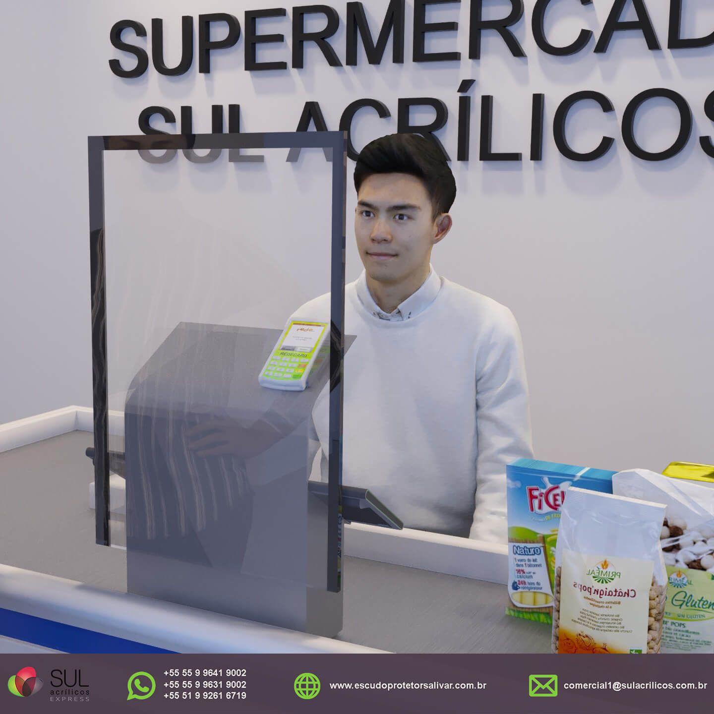 MERCADO - Kit com 10 Escudos Protetores Salivares Econômico