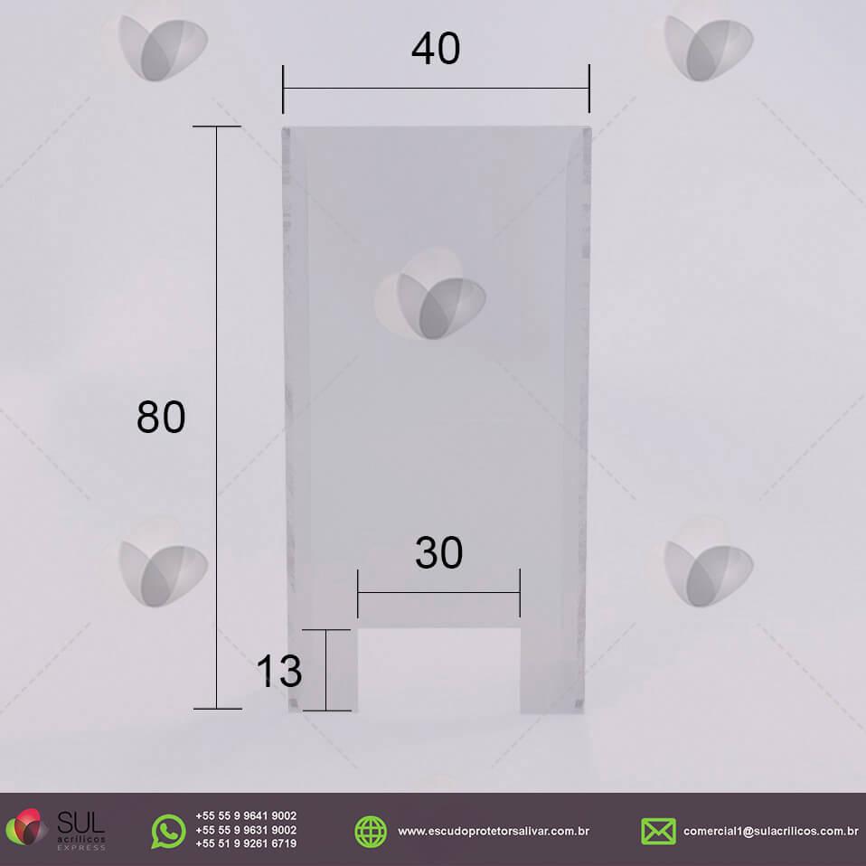 CONVENIÊNCIA - Kit com 10 Escudos Protetores Salivares para 1 Caixa